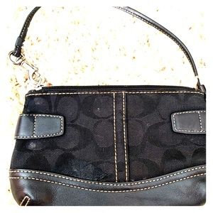Used Coach Wristlet